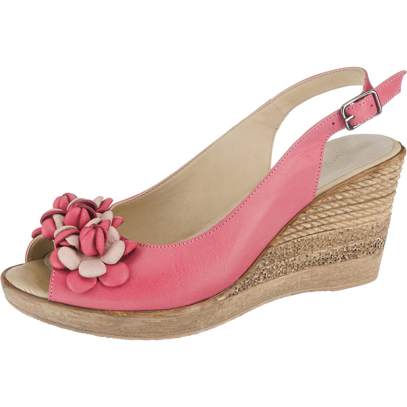 Neu Andrea Conti KeilSandaleeetten 7494184 für Damen rosa