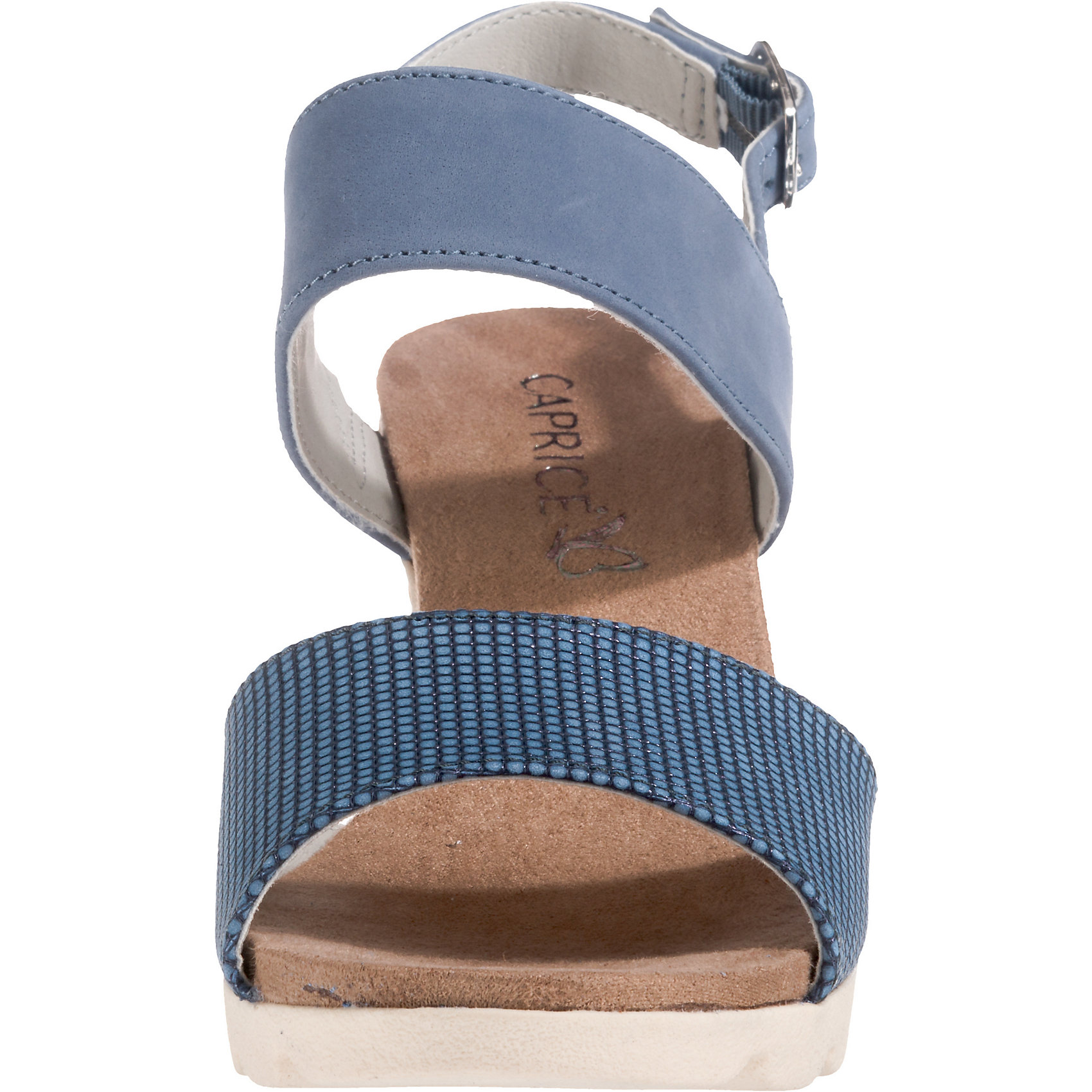 Neu CAPRICE KeilSandaleeetten 7558553 für Damen blau-kombi