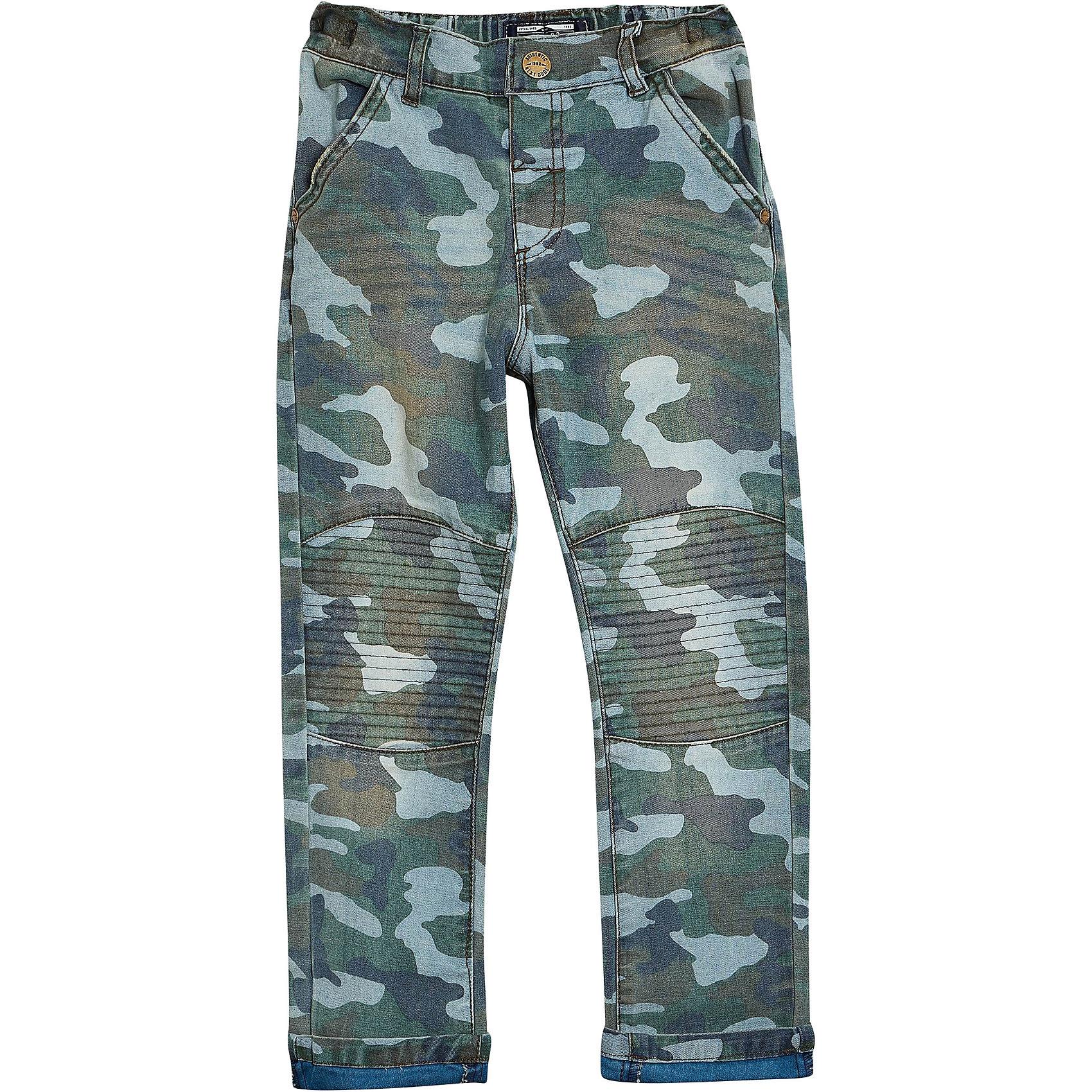 neu next jeans mit camouflage muster fuer jungen - Jeans Mit Muster