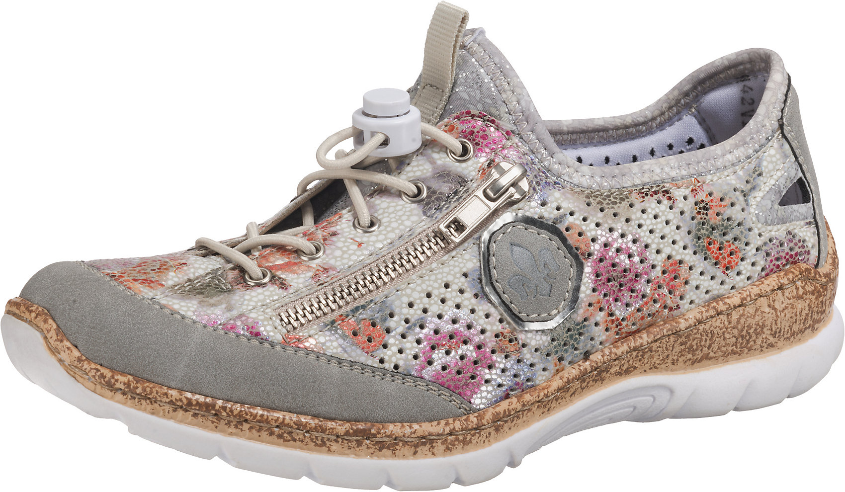 Neu Für Namibiamosaikmirrorscuba Zu Rieker Sneakers Damen Details 7568623 Low vnwN0m8