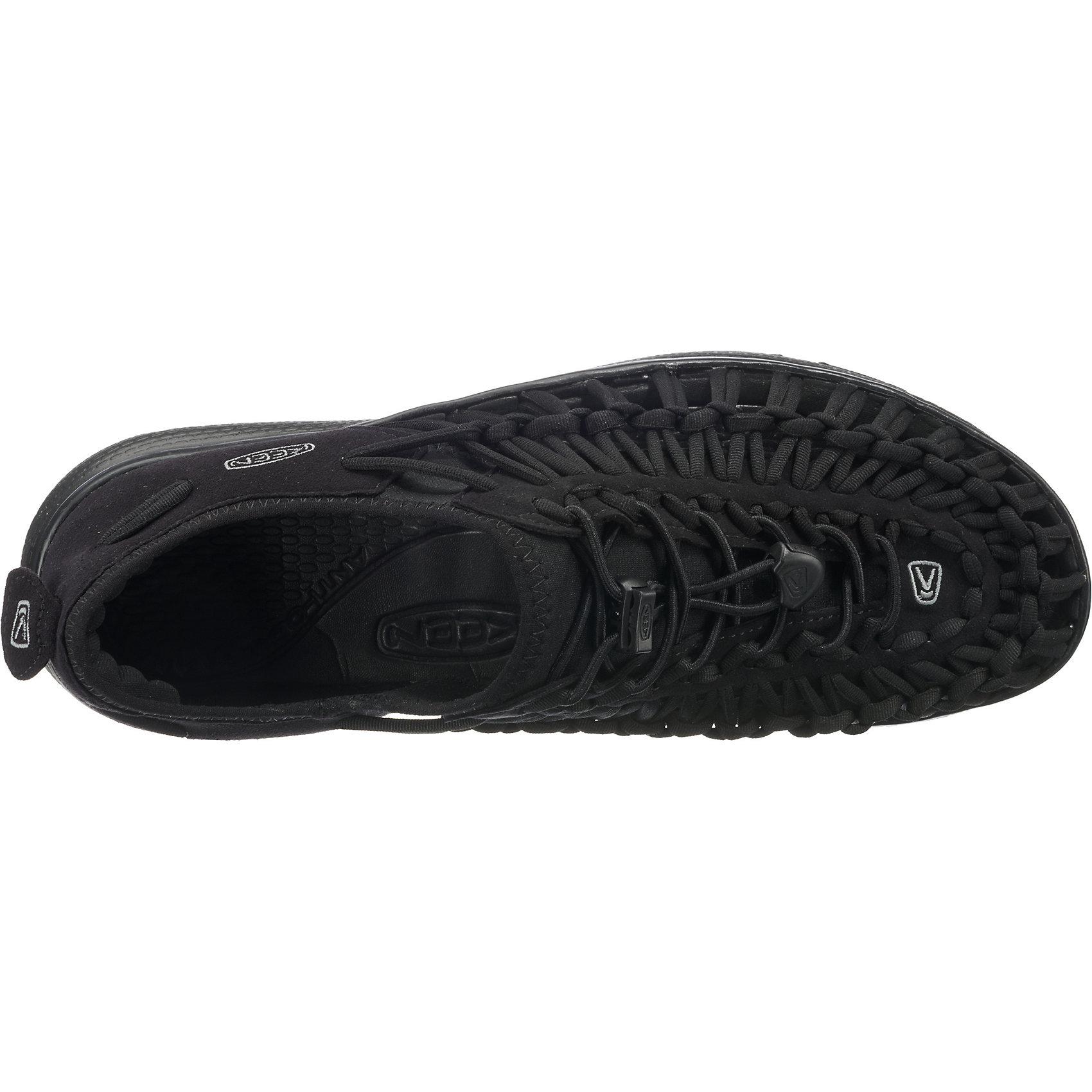 Keen »Uneek O2« Outdoorsandale, schwarz, black