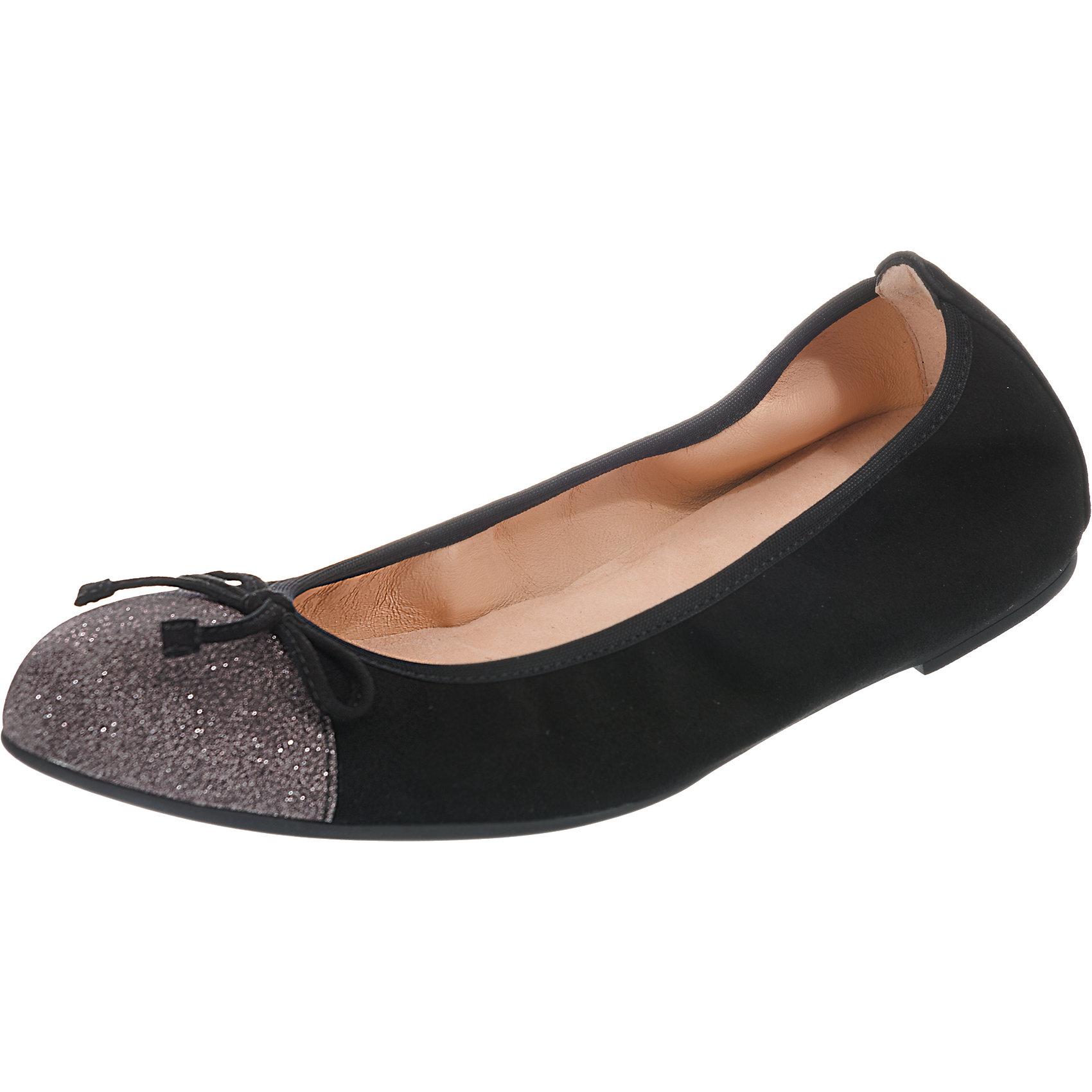 Neu Unisa Klassische Ballerinas 7640872 für Damen schwarz khaki