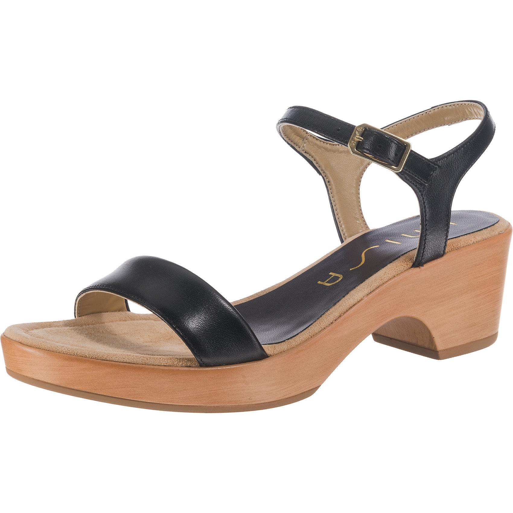 Neu Unisa Klassische Sandaletten 7641042 f r Damen wei schwarz