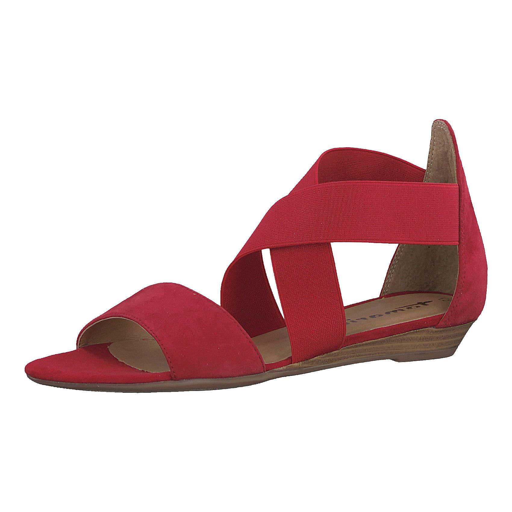 Tamaris Klassische Sandalen, schwarz, schwarz