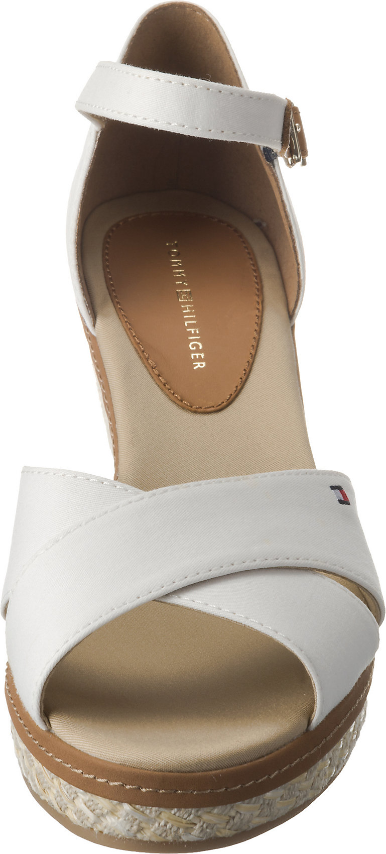 Elba Zu Neu Damen Tommy Details 7643032 Hilfiger Für Iconic Keilsandaletten Sandal Basic DWEHYI29