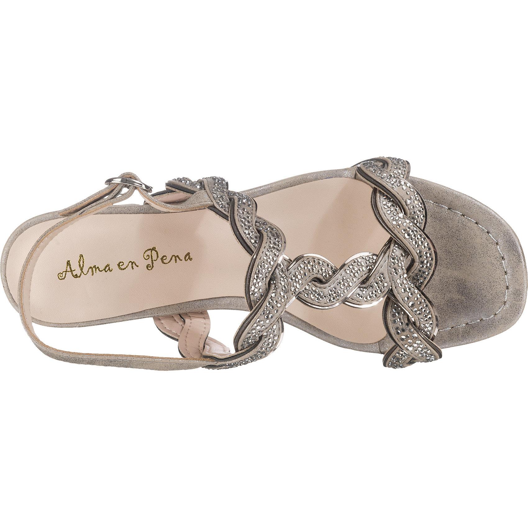 Neu Alma en Pena T-Steg-Sandaletten 7910142 für Damen grau grau grau edd290