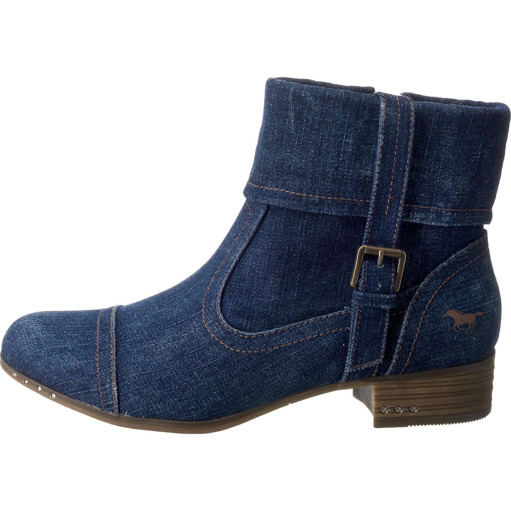 Neu MUSTBNG Klassische Stiefeletten 7911701 für Damen dunkelblau
