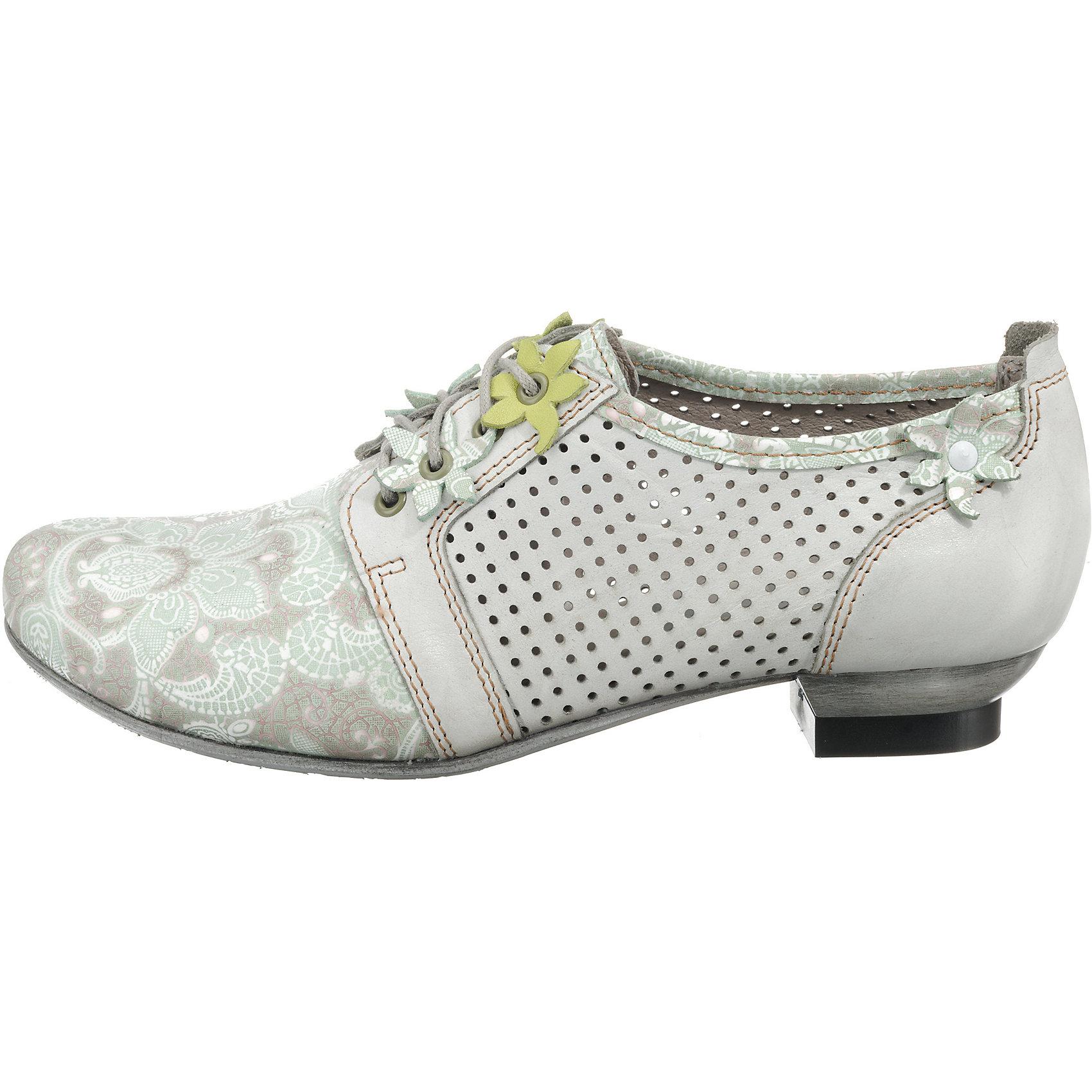 Neu SIMEN Schnürpumps 7930204 für Damen weiß/grau