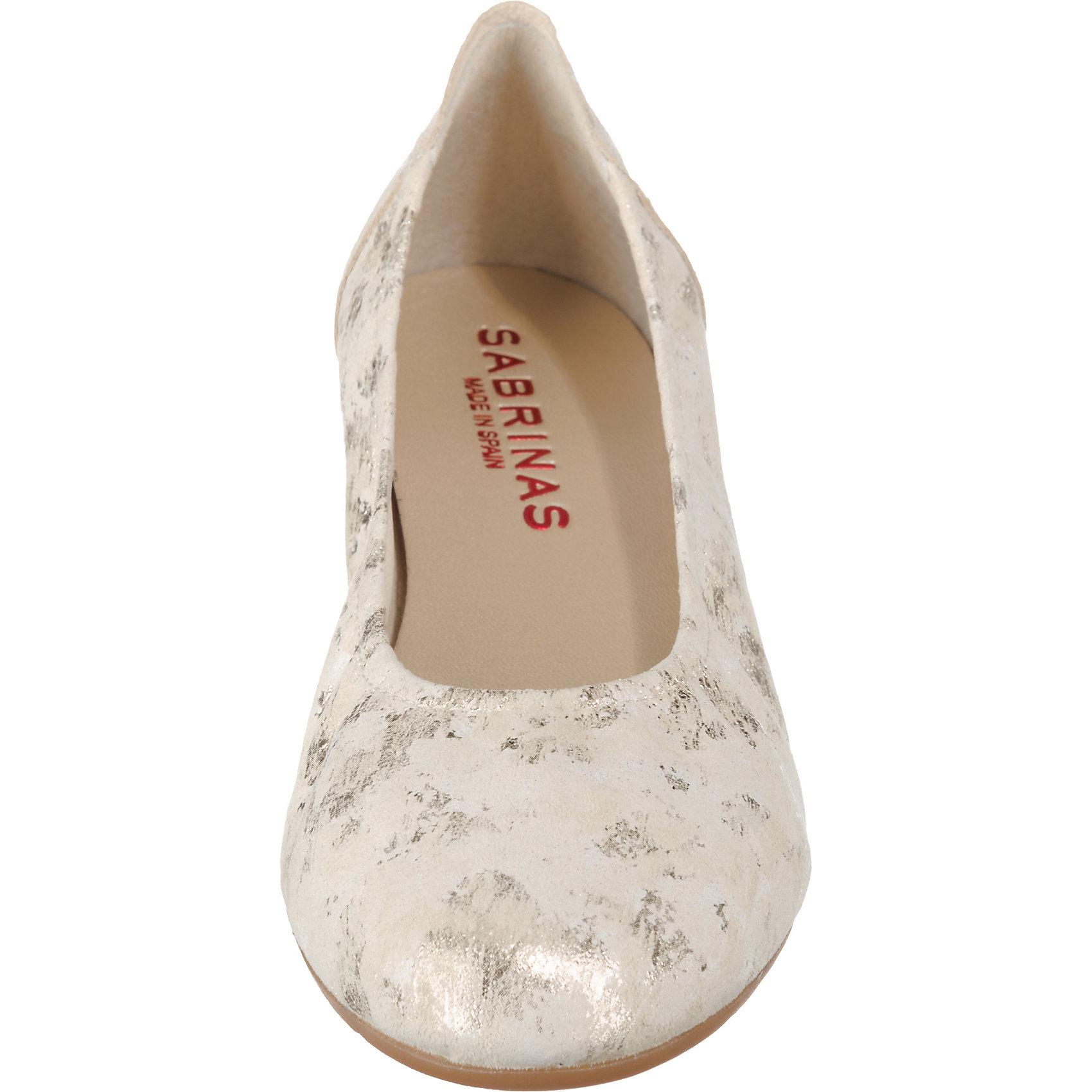 Neu SABRINAS 7930862 LONDON Klassische Ballerinas 7930862 SABRINAS für Damen gold-kombi 466bec
