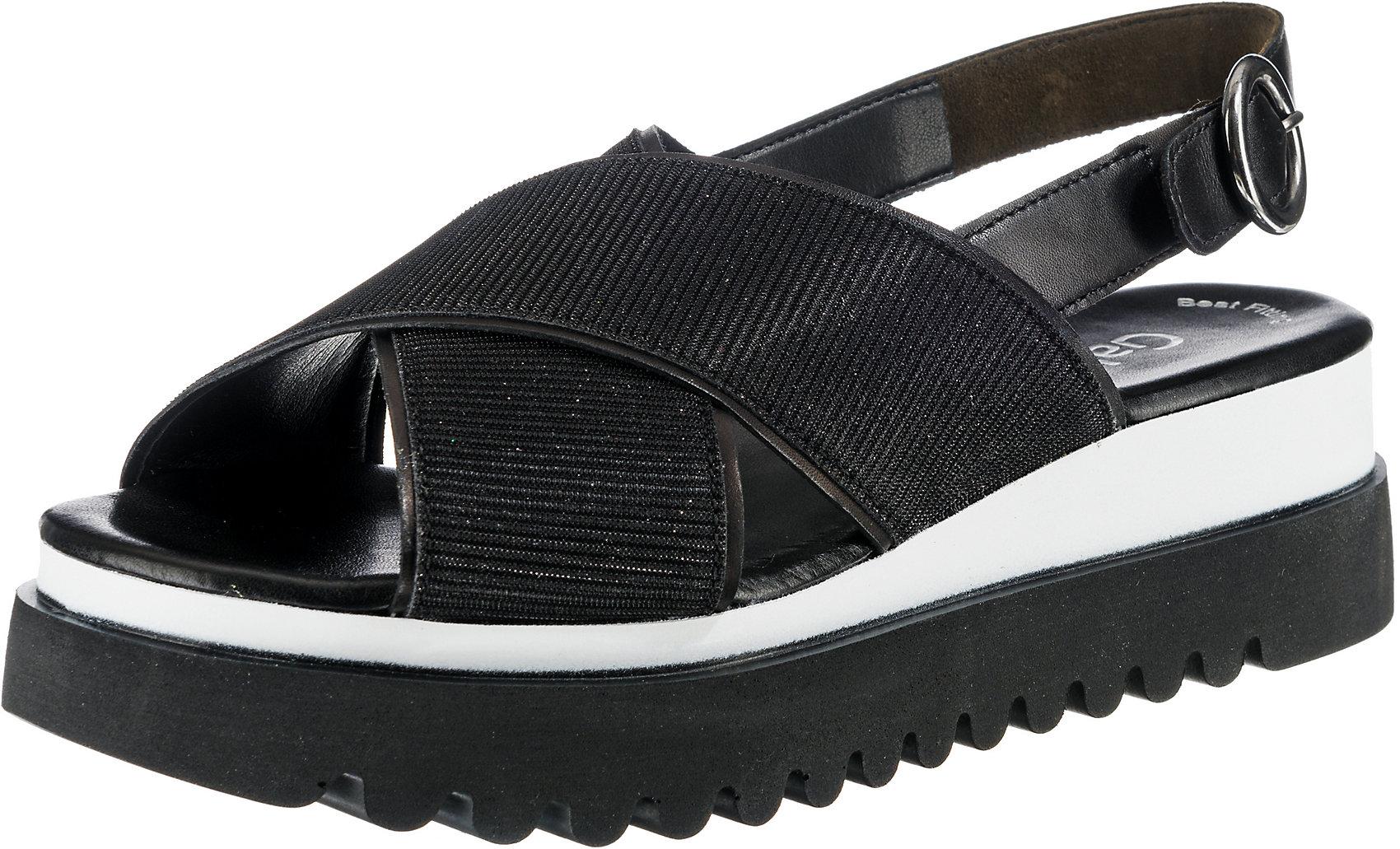 Sandaletten 7970117 Damen Für Plateau SchwarzEbay Gabor Neu 9I2DHEW