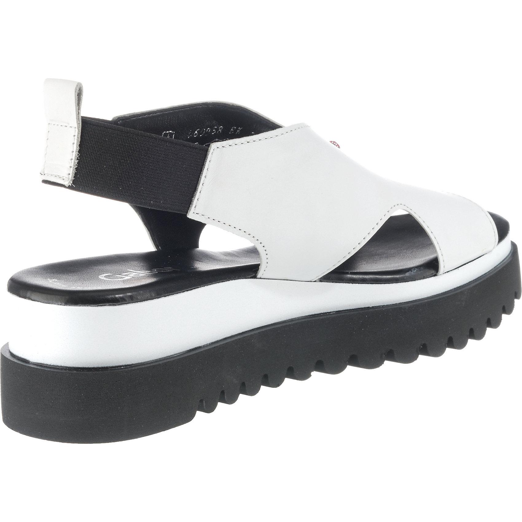 Gabor weiß sandaletten Schwarz Plateau Neu Damen 7970135 Für gqdgan