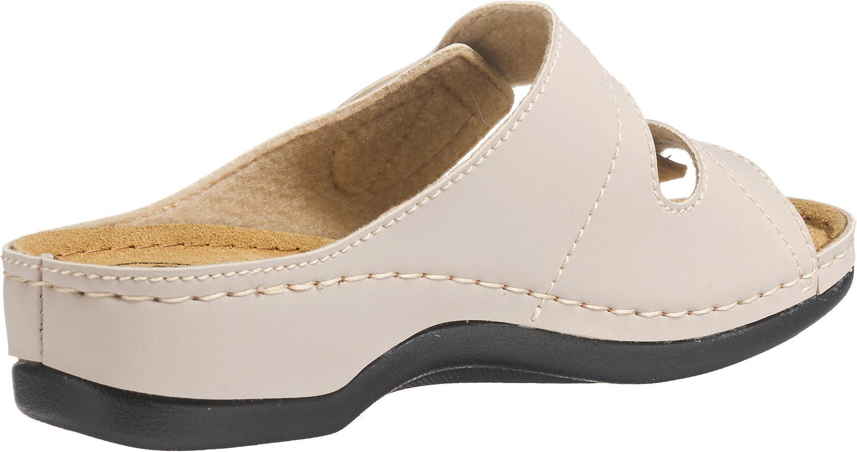 buy popular 7a245 97695 Details zu Neu Franken-Schuhe Komfort-Pantoletten 7970440 für Damen schwarz