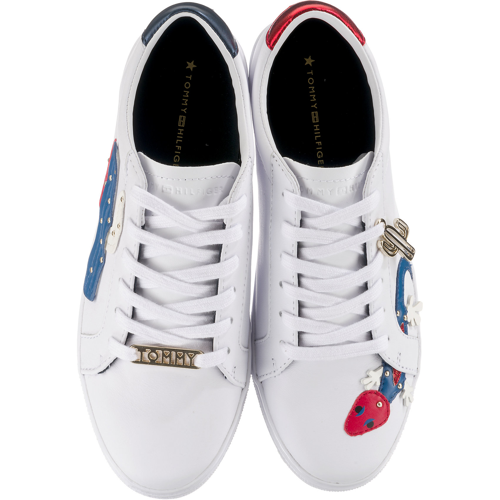 8bcaeb783bf6 Neu TOMMY HILFIGER EMBELISH ESSENTIAL SNEAKER Sneakers Low 8005098 ...