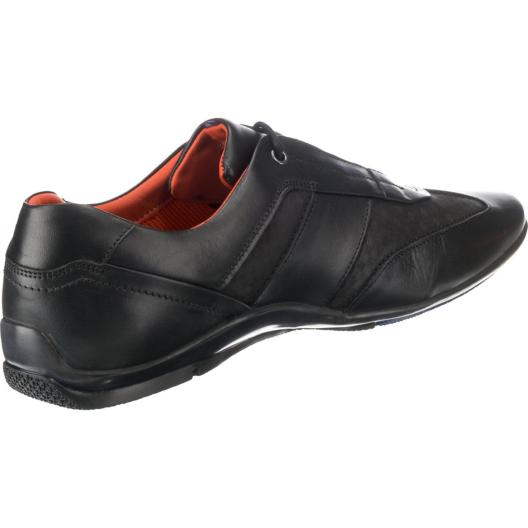 Neu DANIEL HECHTER Sneakers Low 8315886 für Herren schwarz