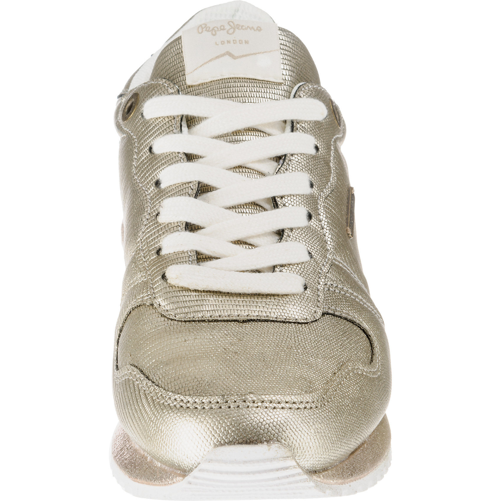 Neu Pepe Jeans GABLE NEW PLAIN Turnschuhe Low 8430872 für für für Damen Gold  | Gutes Design  dca173
