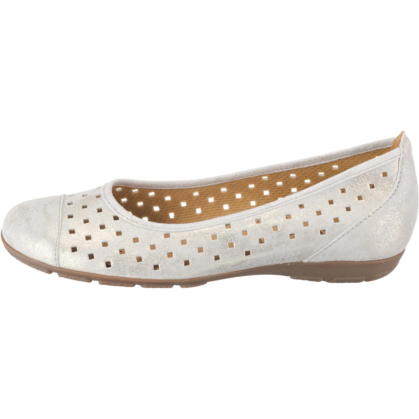 Neu Gabor Klassische Damen Ballerinas 8438887 für Damen Klassische weiß 184cab