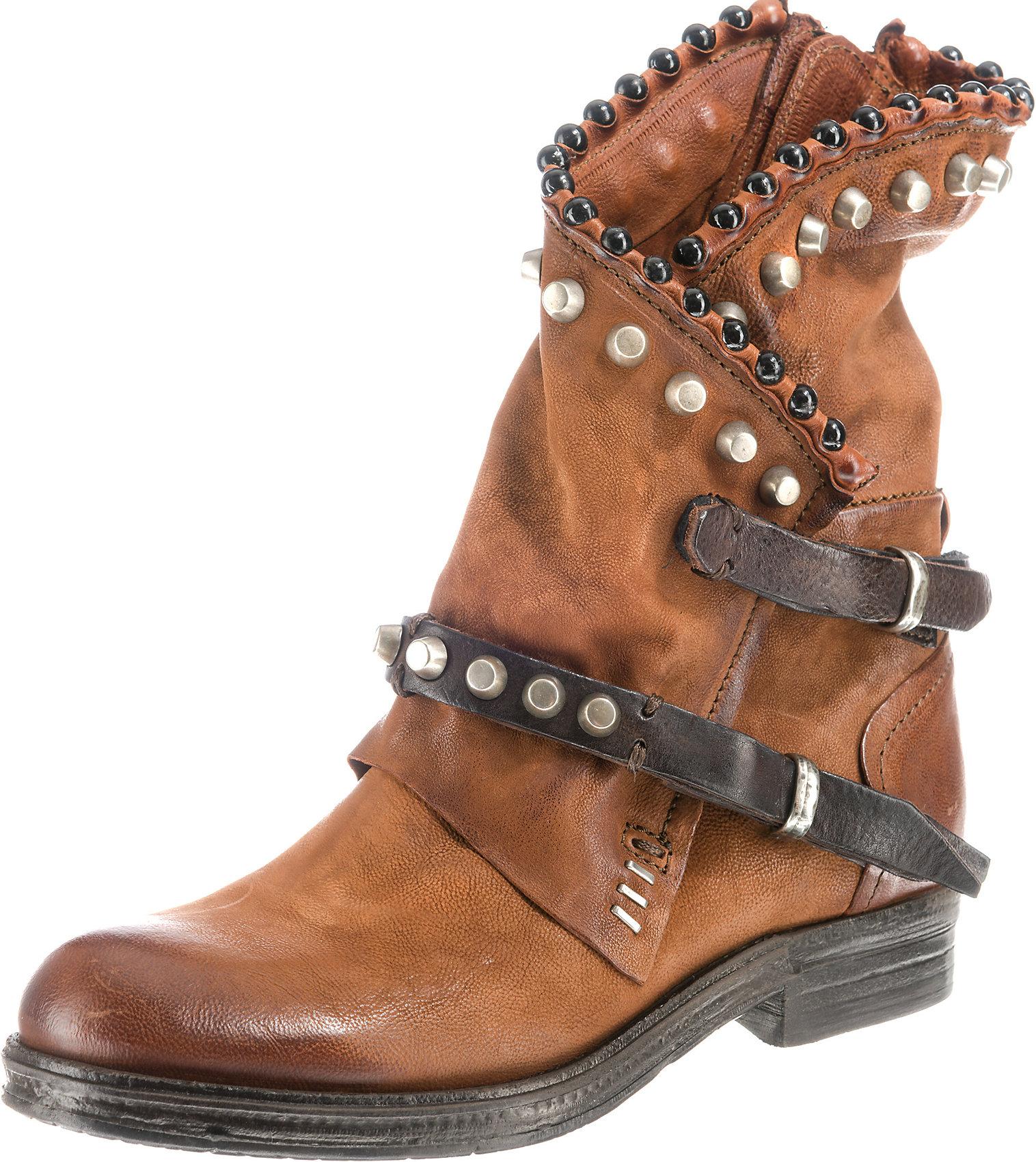 Details zu Neu A.S.98 Klassische Stiefeletten 8451410 für Damen braun grau schwarz