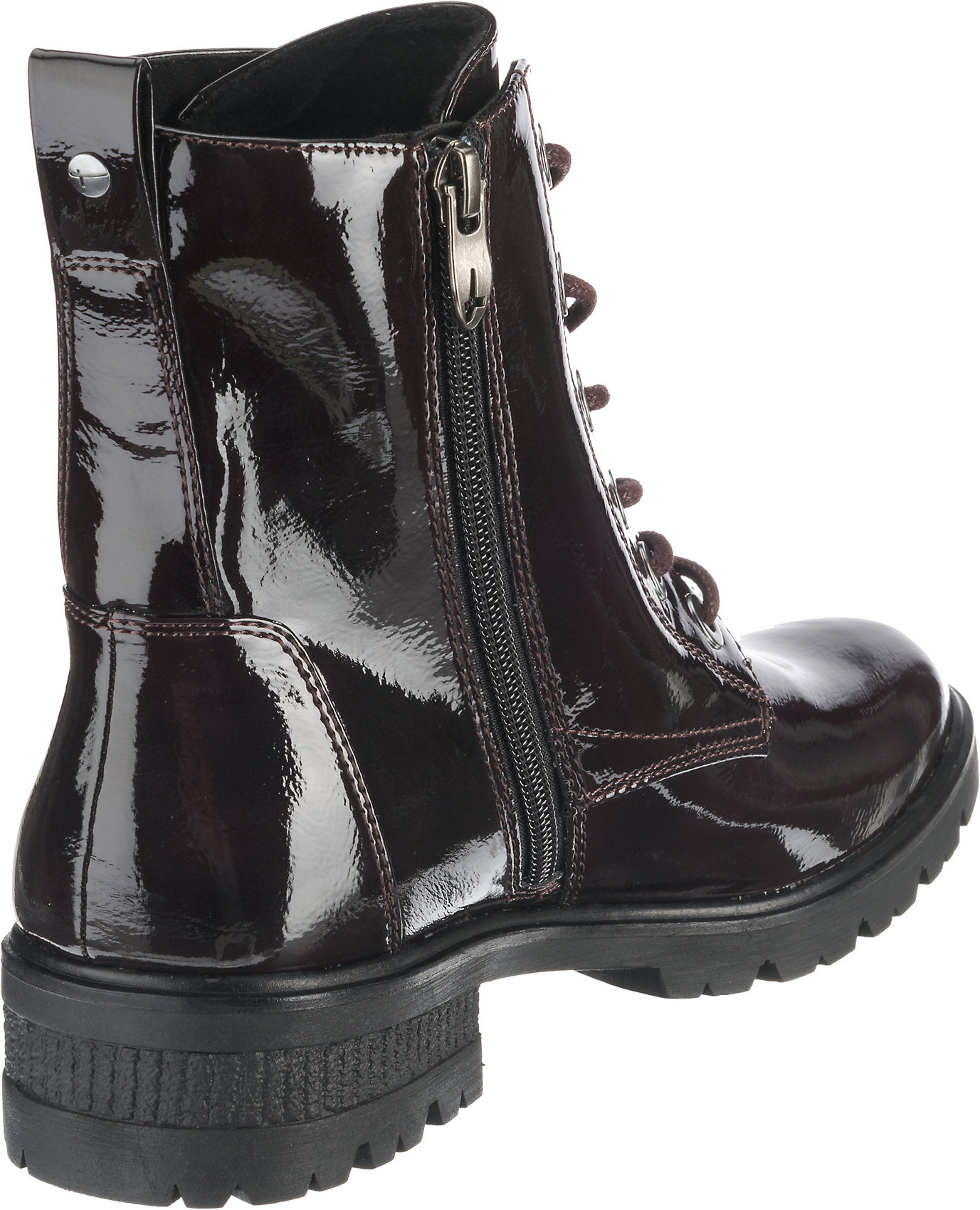 Details zu Neu Tamaris Schnürstiefelette 8453356 für Damen schwarz Modell 2