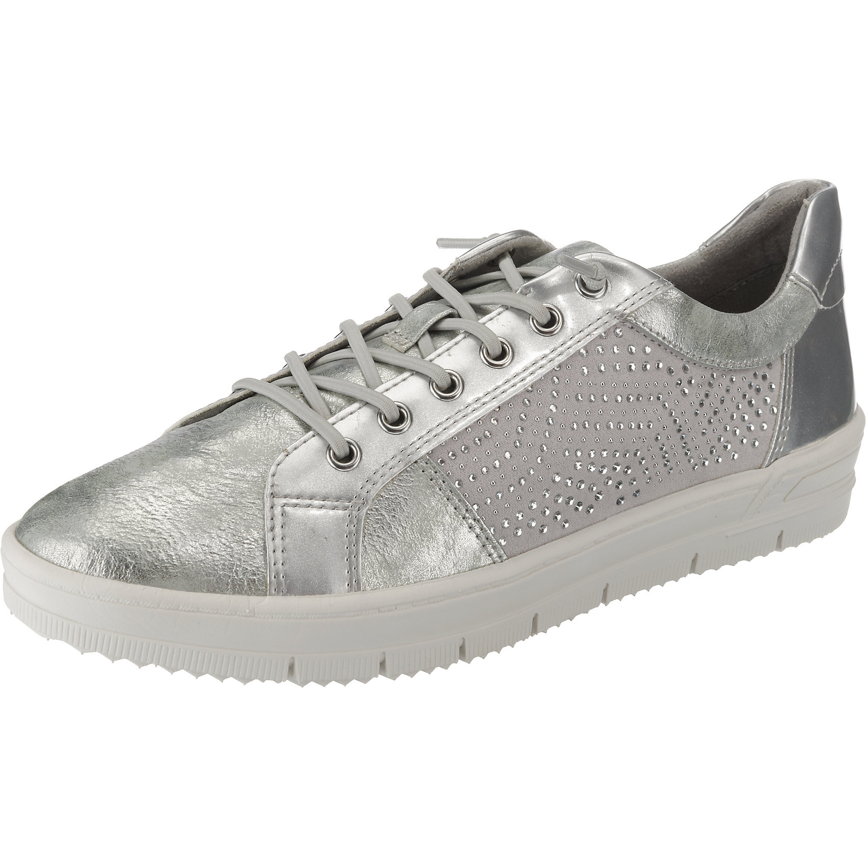 Neu Tamaris Sneakers Low 8453419 für Damen silber