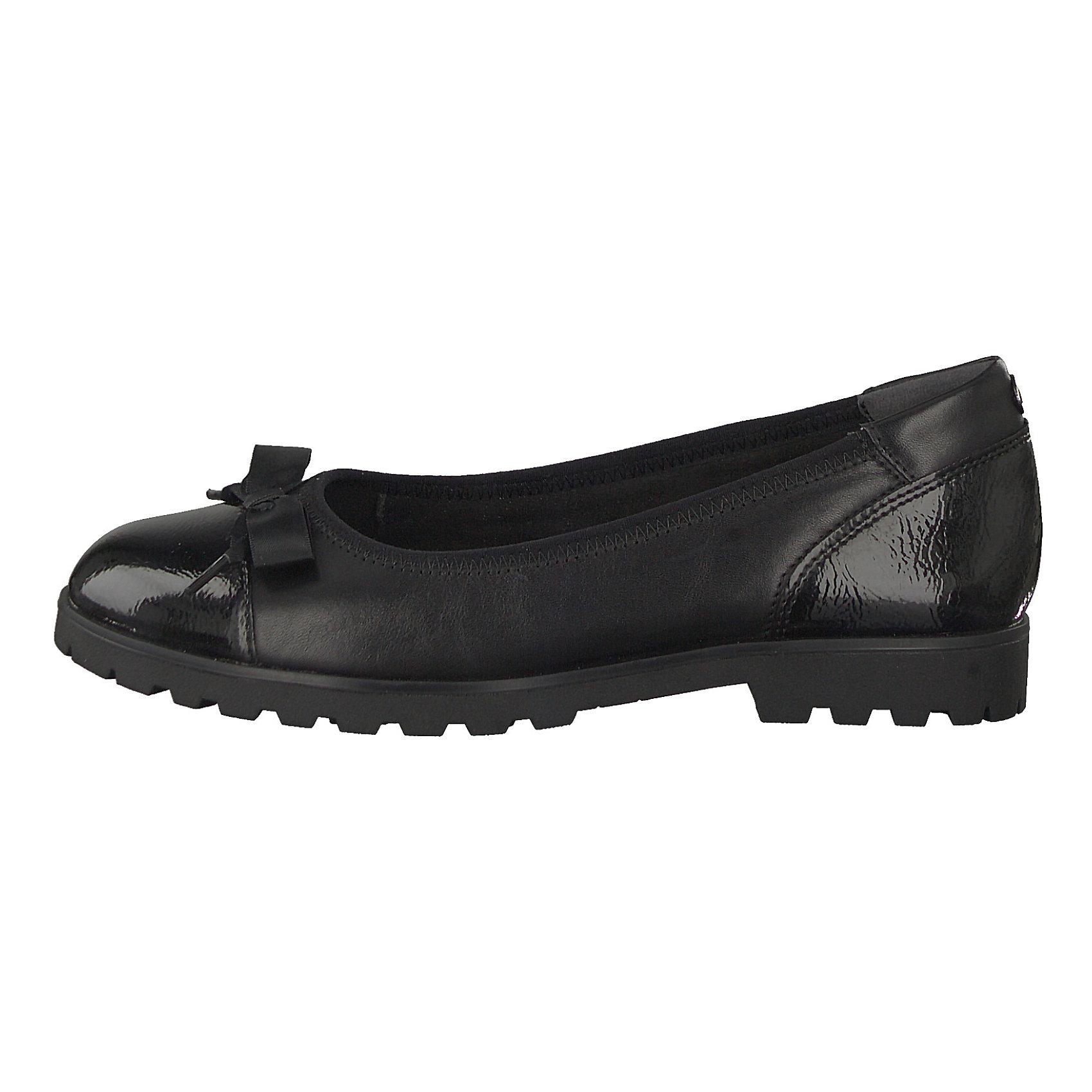 Neu Tamaris Klassische Ballerinas 8453547 für Damen Damen Damen schwarz ca4822
