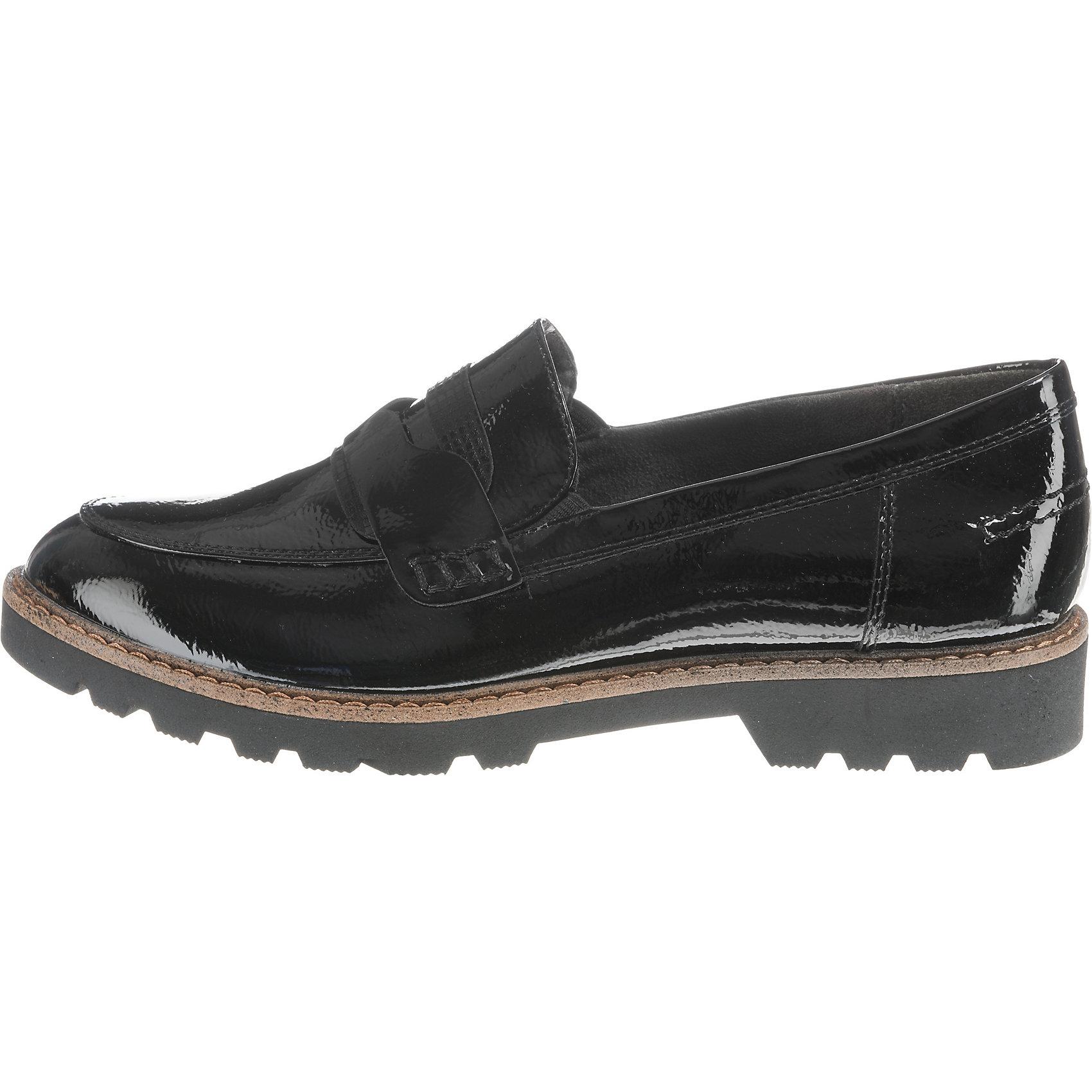 Neu Tamaris Loafers 8453908 für Damen schwarz schwarz-kombi