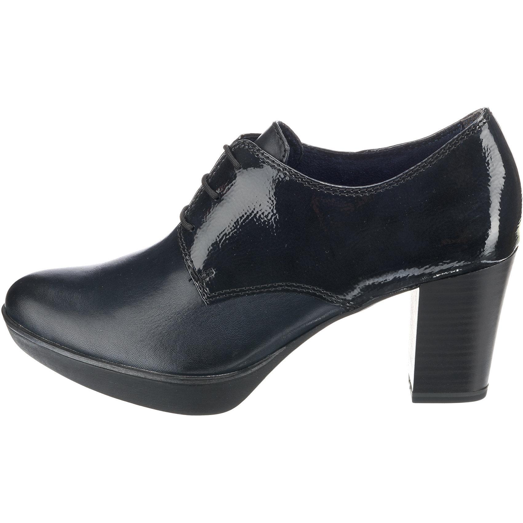 online zu verkaufen begrenzter Stil Einkaufen Details zu Neu Tamaris Hochfrontpumps 8454187 für Damen schwarz blau