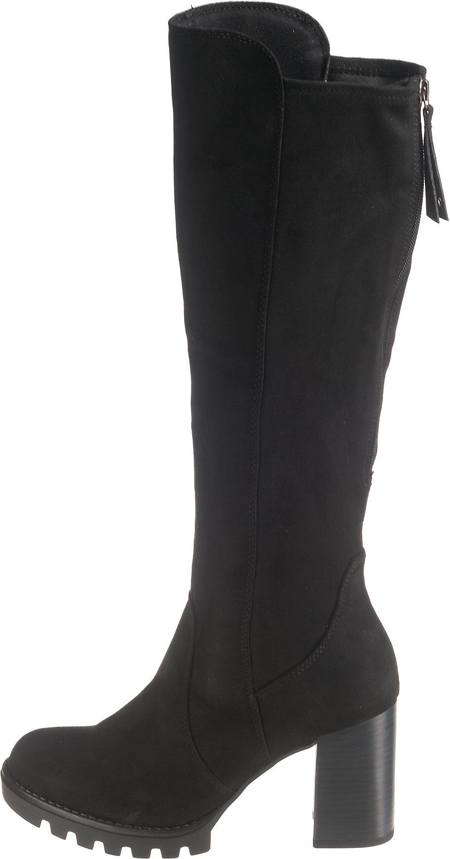 Details zu Neu Tamaris Plateau Stiefel 8453266 für Damen schwarz