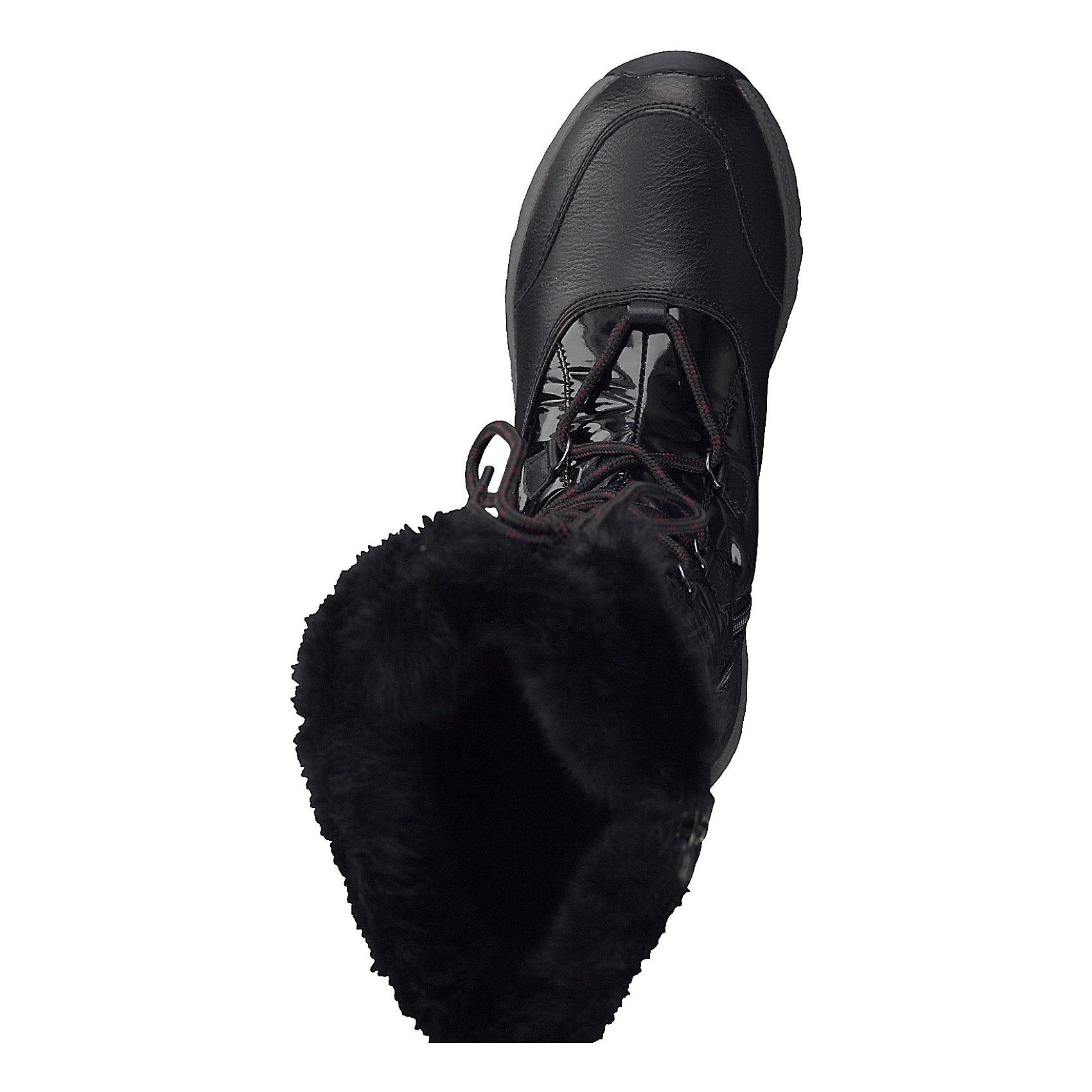 Neu MARCO TOZZI TOZZI TOZZI Feel + Tex Winterstiefel 8515842 für Damen schwarz creme 978549