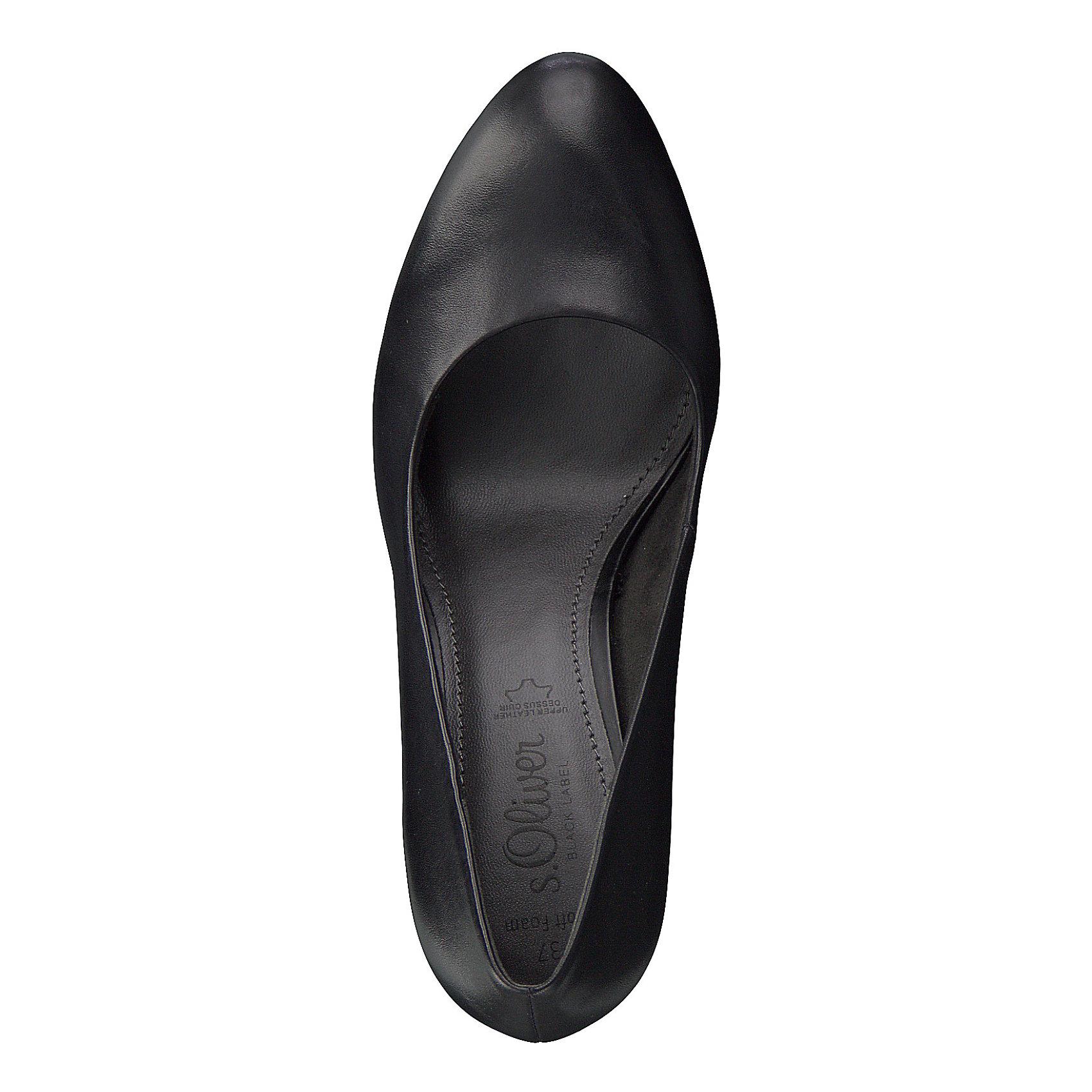 Neu s.Oliver Klassische Pumps 8534895 für Damen schwarz    | Qualitätsprodukte  e0aea9