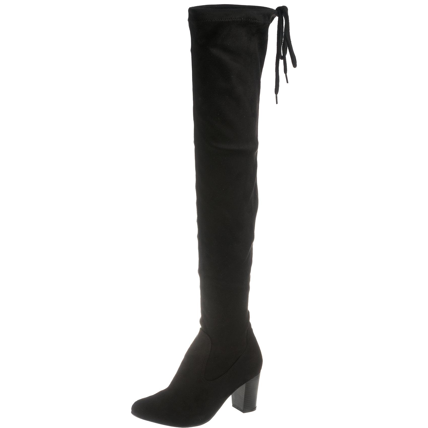 Neu CAPRICE Britt Overknee-Stiefel 8530475 für Damen grau schwarz