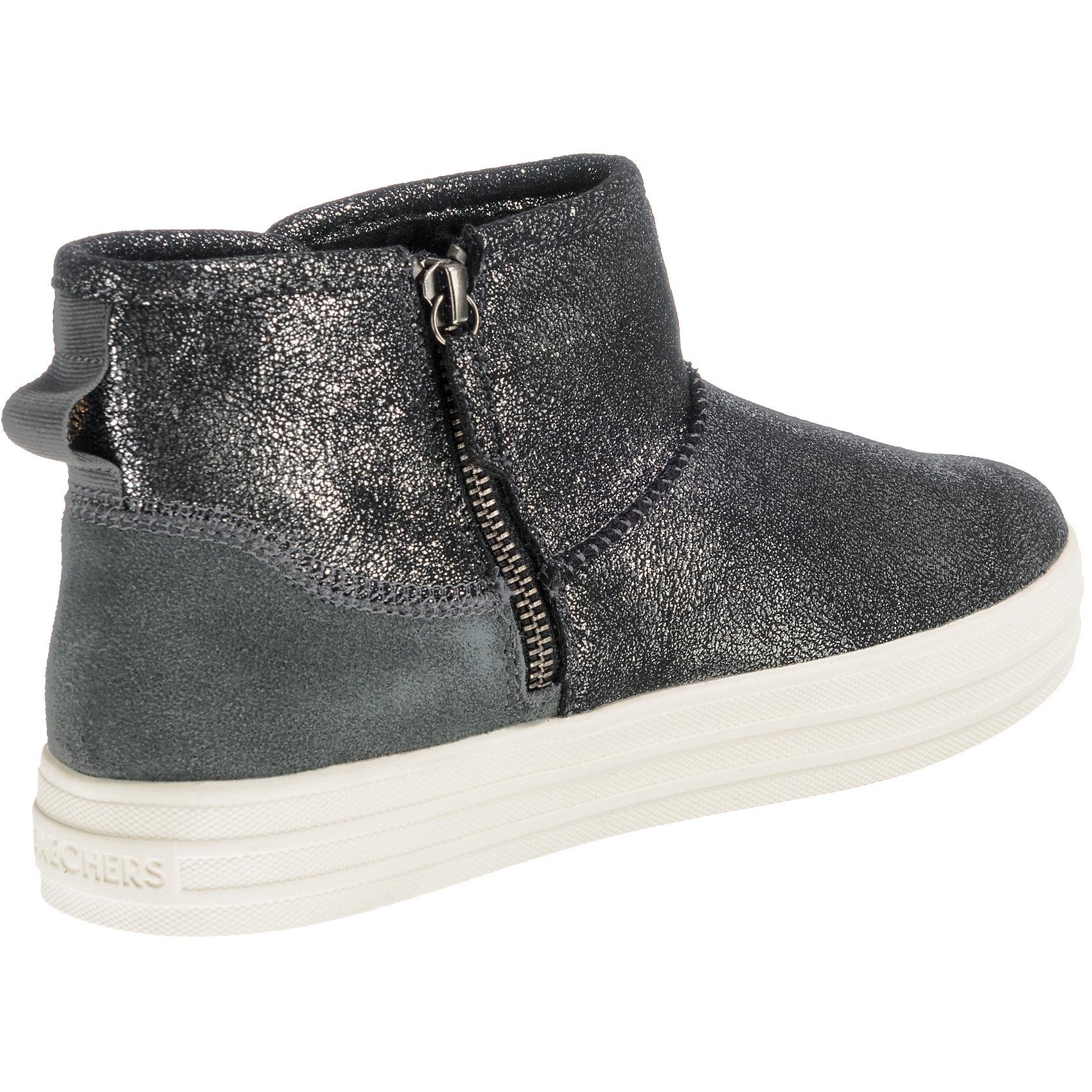 Neu SKECHERS Damen DOUBLE UPWARM SHINE Sneakers High 8666237 für Damen SKECHERS grau bbdfb6