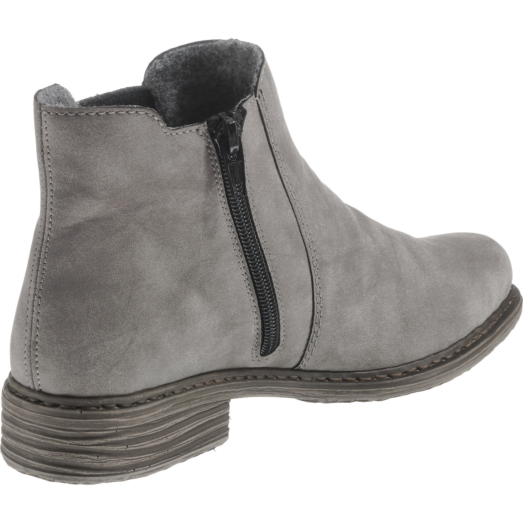 Neu rieker rieker rieker Chelsea Stiefel 8672621 für Damen grau 7caaa0