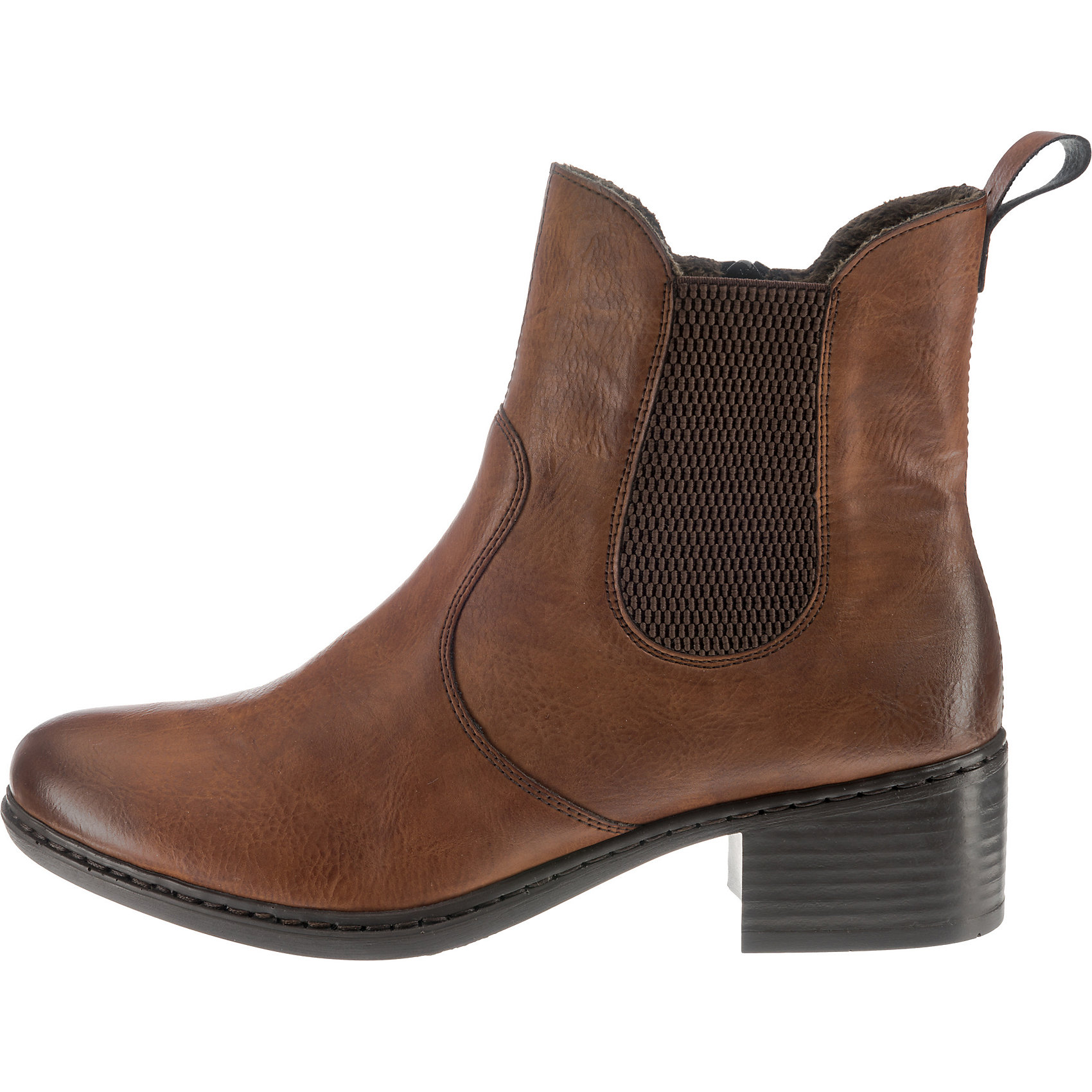 Neu rieker Chelsea Stiefel 8670736 für Damen braun