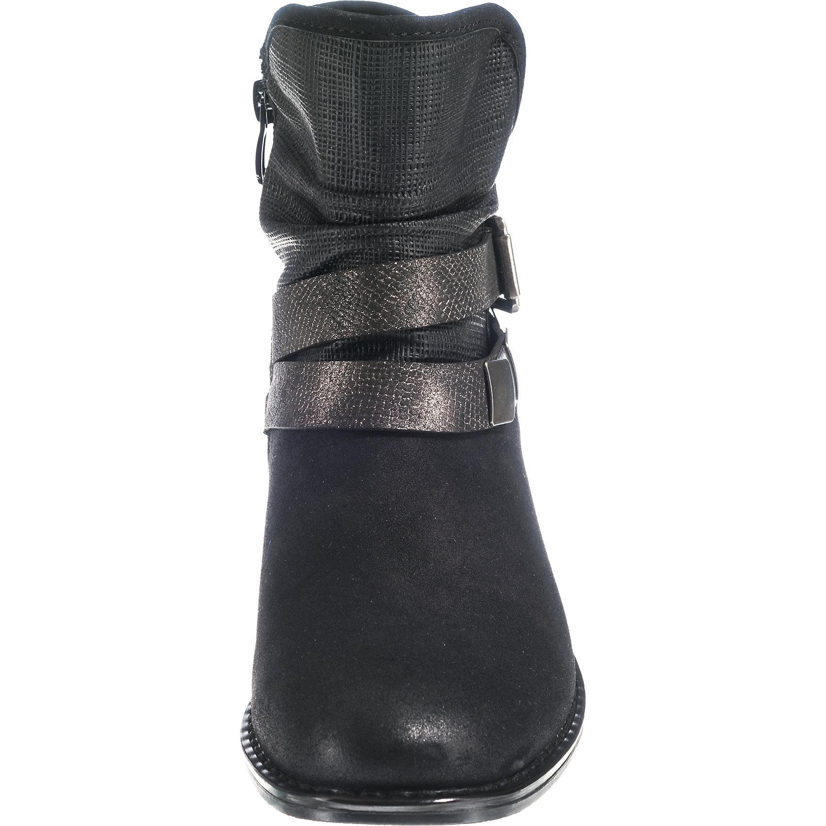Neu rieker rieker Neu Biker Stiefel 8670950 für Damen schwarz 04de05