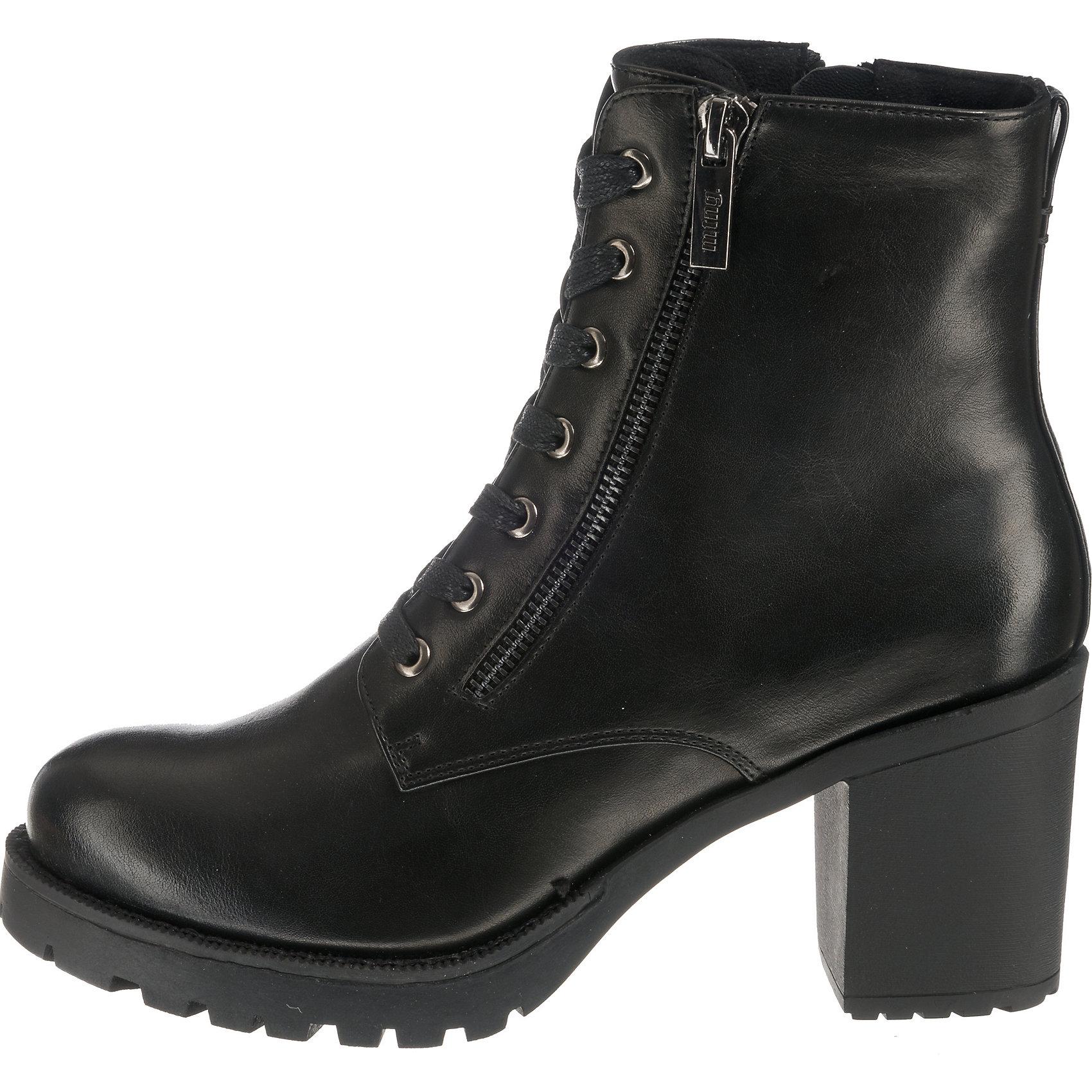 Neu MTNG Tina Schnürstiefeletten 8687455 für Damen bordeaux schwarz