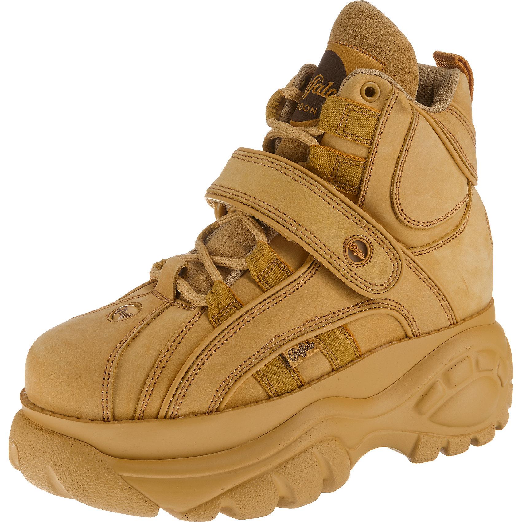 Neu Buffalo London Plateau Classics Sneakers High 8714811 für Damen