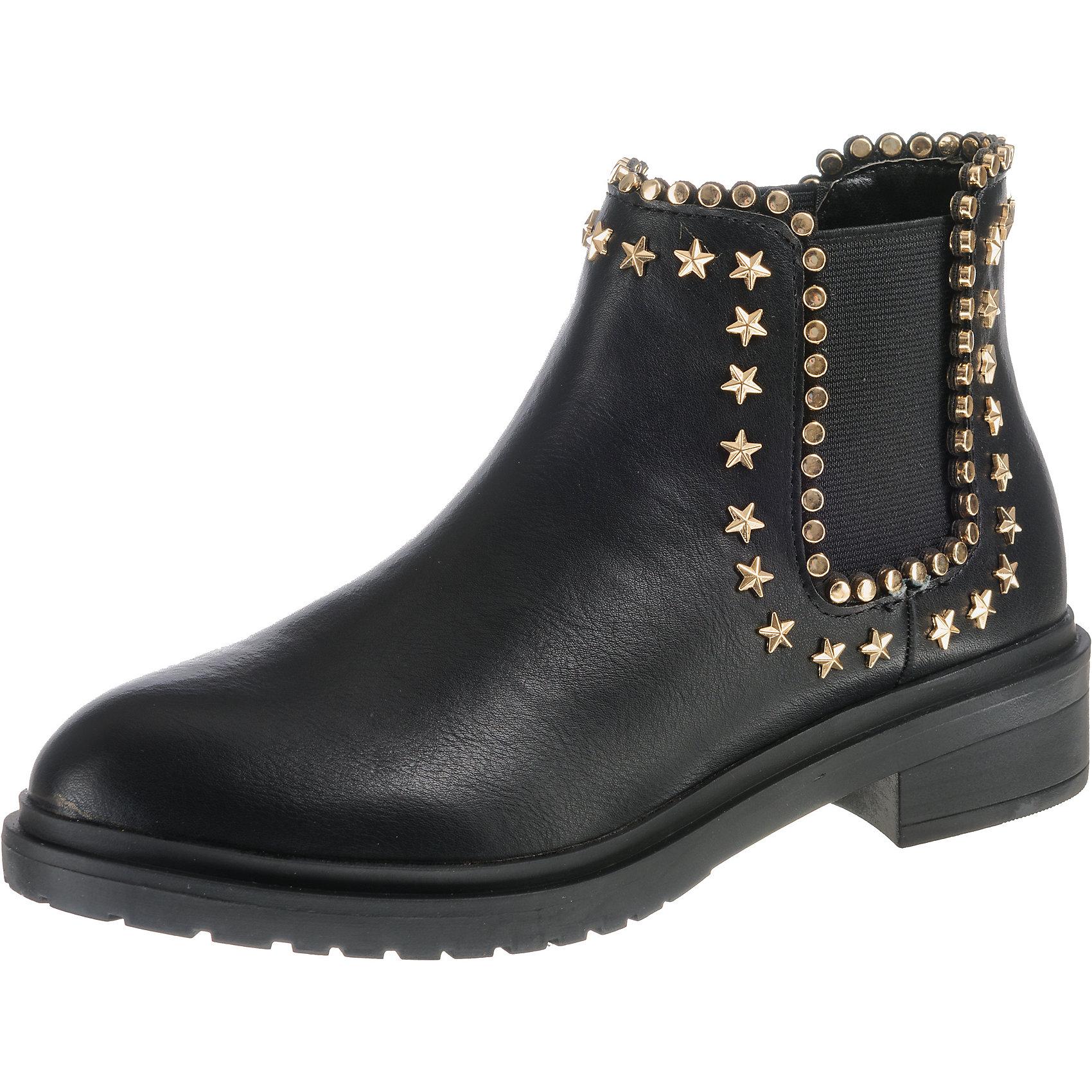 Neu schwarz BUFFALO Chelsea Stiefel 8761283 für Damen schwarz Neu 9ed597