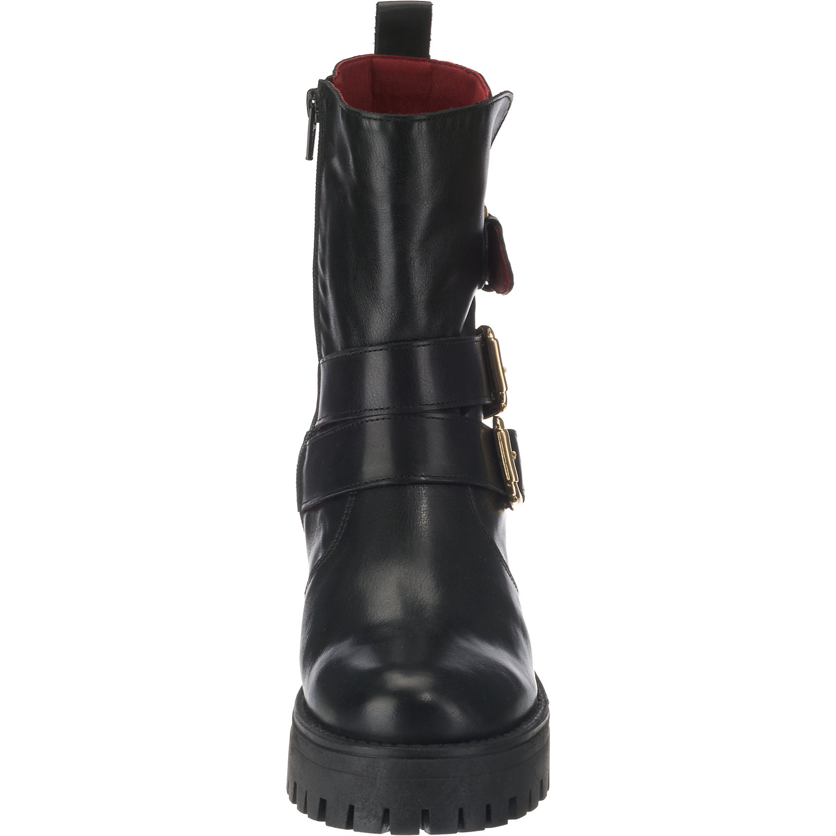 ae3c63f266c602 Neu BUFFALO Biker Boots 8761544 für Damen schwarz Modell 1 schwarz ...