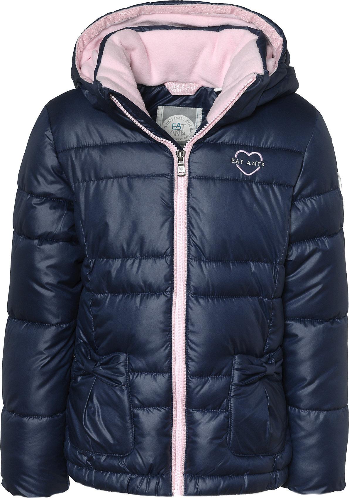 wholesale dealer 89789 ffba9 Details zu Neu Eat Ants BY SANETTA Winterjacke für Mädchen 8807476 für  Mädchen blau