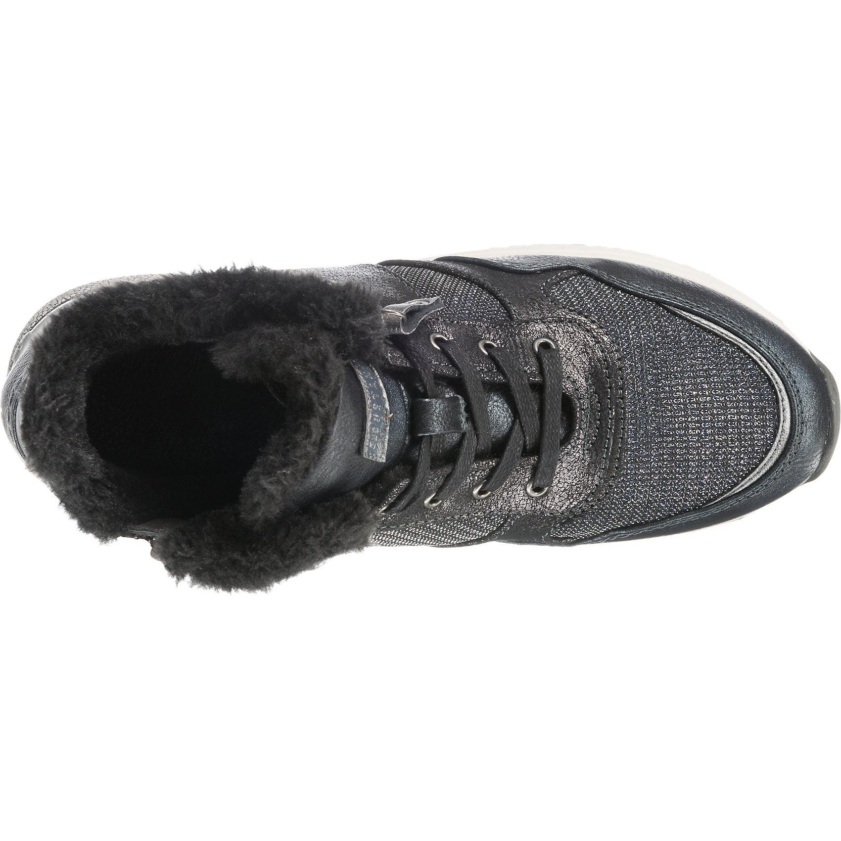 Neu MUSTANG Sneakers High dunkelgrau 8813649 für Damen dunkelgrau High d0dad3