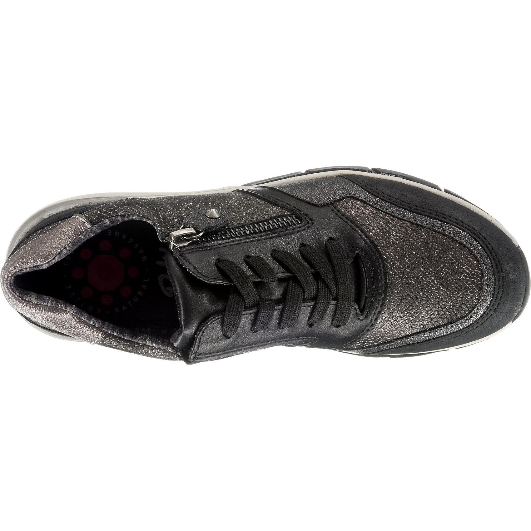 Neu Relife Schnürschuhe 8819820 für Damen schwarz grau grau grau  | Wirtschaftlich und praktisch  7e1873
