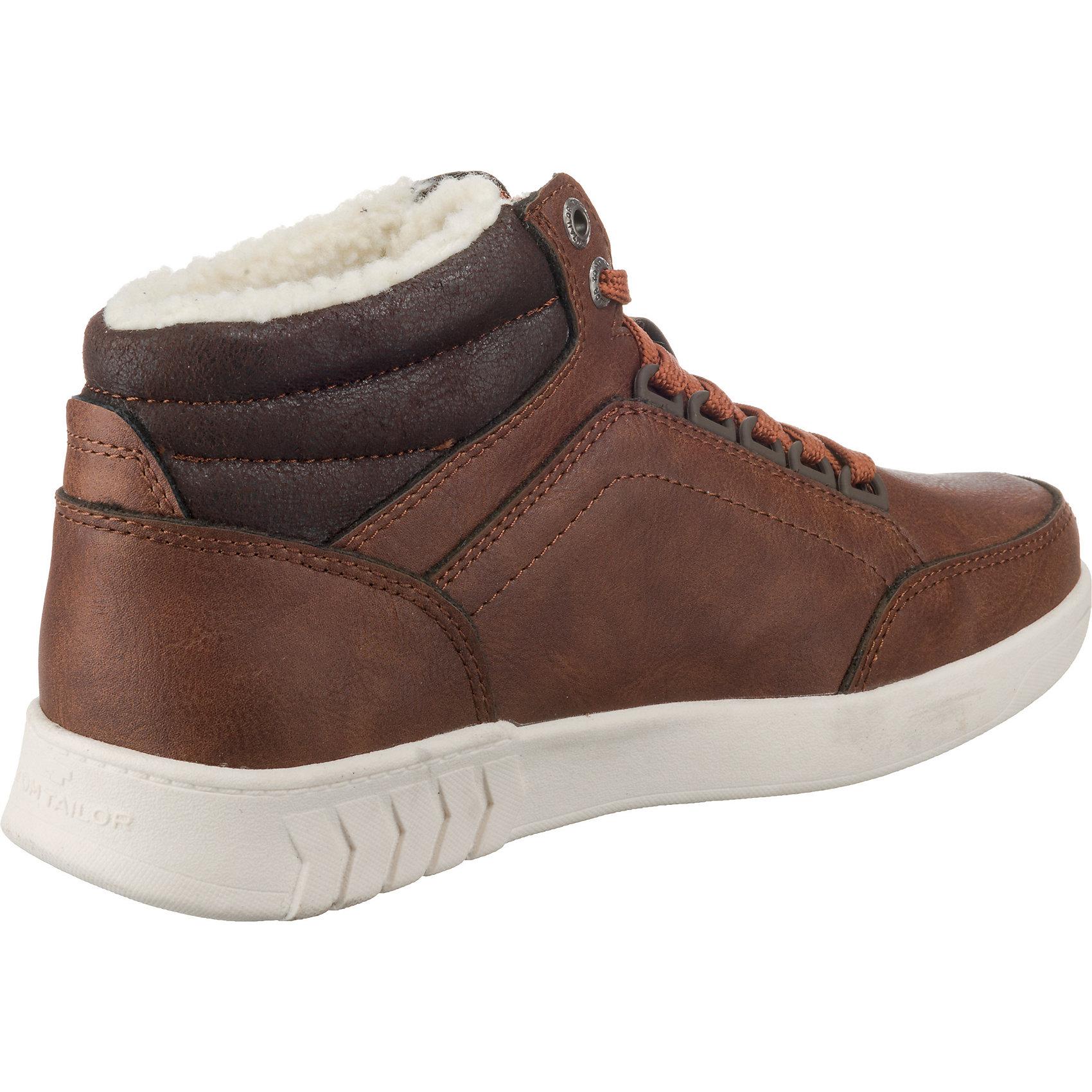 Neu Neu Neu TOM TAILOR Sneakers High 8834609 für Herren schwarz dunkelbraun 71b0f1