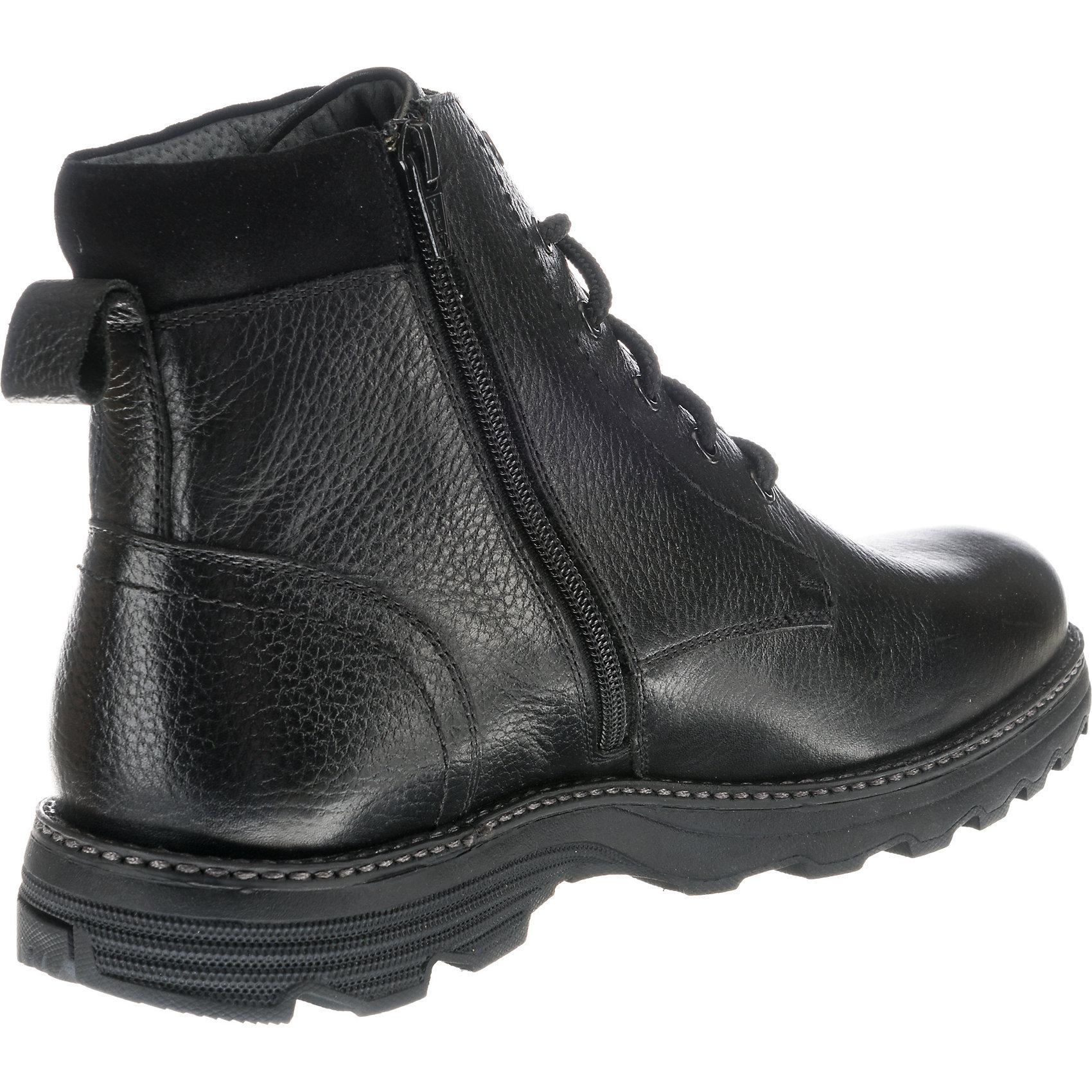 Neu STONEFORD Komfort-Stiefeletten Leder 8835113 für Herren schwarz schwarz schwarz    | Elegant Und Würdevoll  8ba4e7