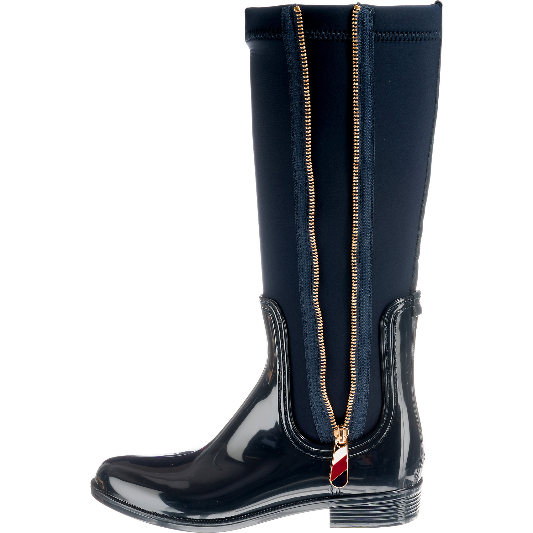 6890048f395be1 Neu TOMMY HILFIGER MATERIAL MIX LONG RAIN BOOT Gummistiefel 8862229 ...