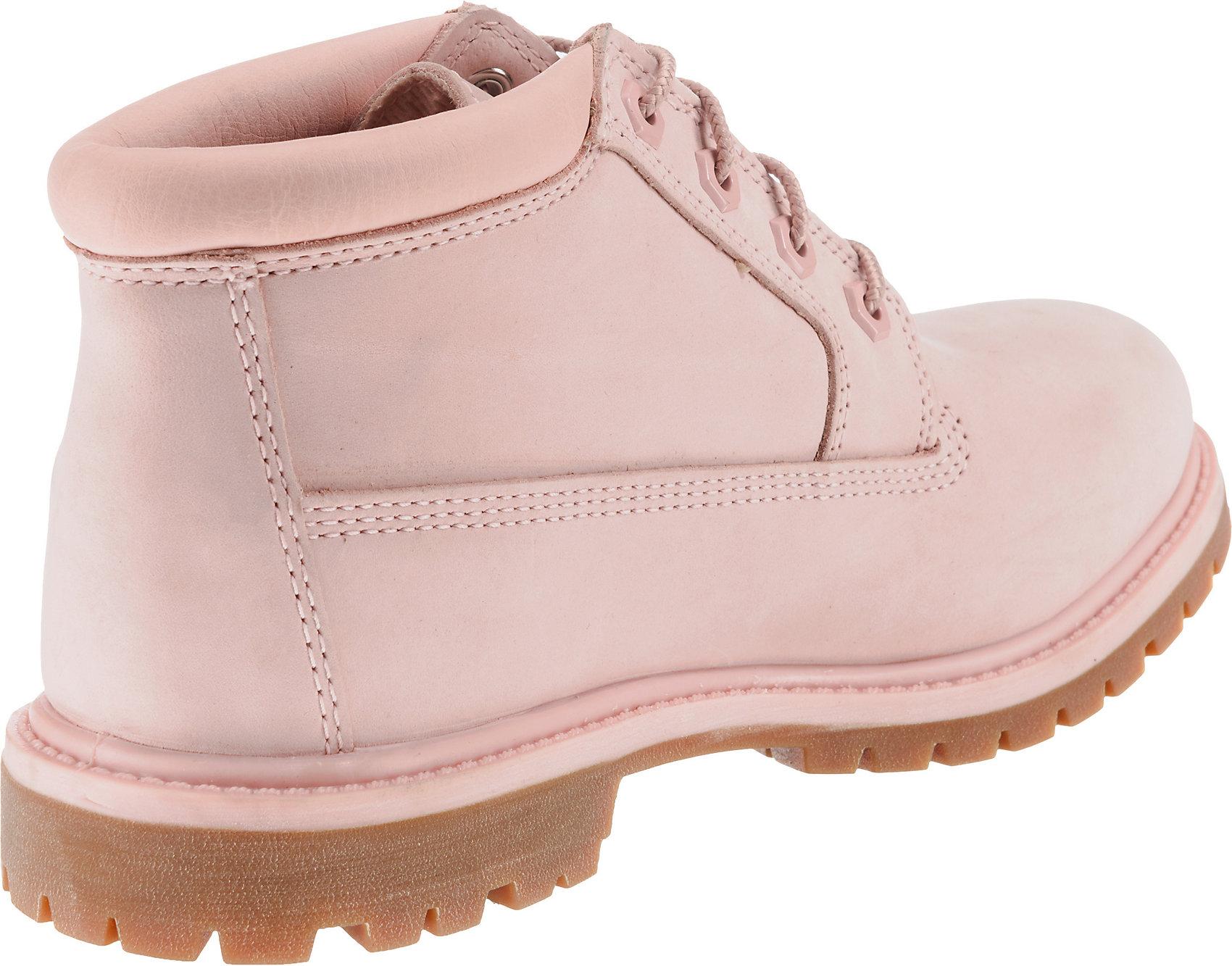 Timberland Damen Nellie Double Chukka Boots, Rosa, EU