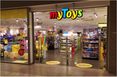 myToys Filiale Köln Weiden Spielzeuggeschäft in der Nähe