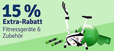ebf1645f813b07 ... 15% Extra-Rabatt auf Fitnessgeräte   Zubehör ...