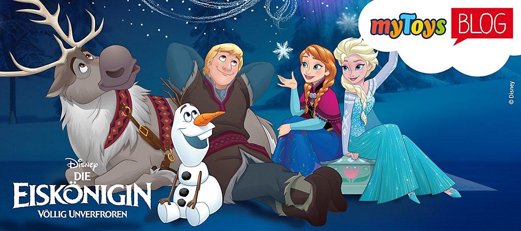 Disney Die Eiskönigin Frozen Fanartikel Von Anna Elsa Mytoys