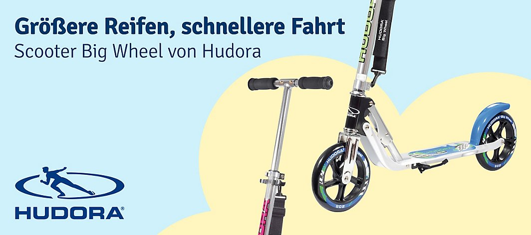 Scooter Big Wheel von Hudora