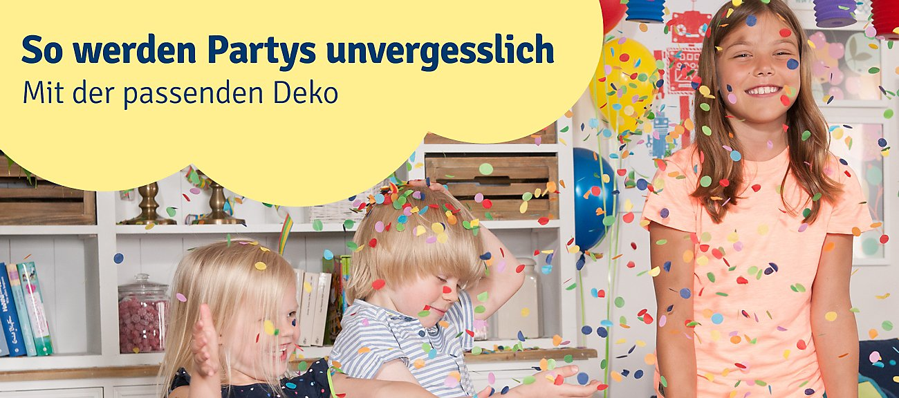 Kinderparty- & Deko-Artikel